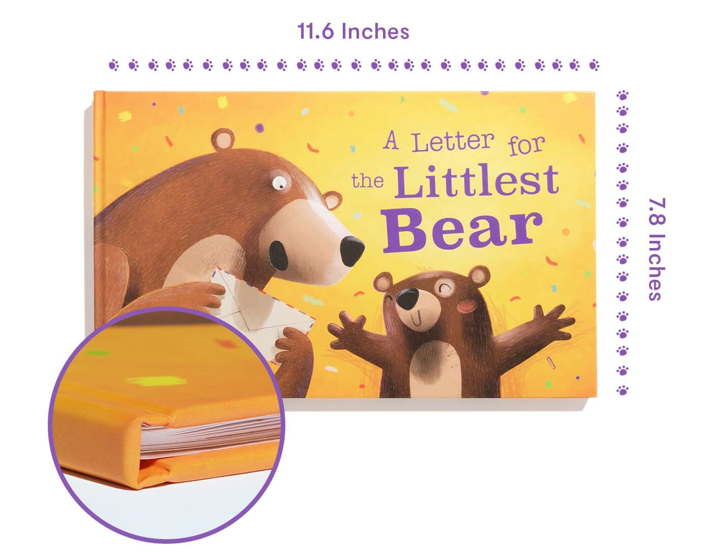 The Littlest Bear - Product Description of the book specification