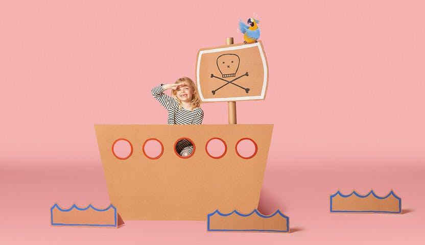 Child in boat